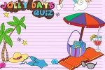 Jolly Days Quiz